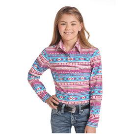 Panhandle Girl's Panhandle Snap Front Shirt C6S4407