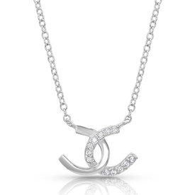 Montana Silversmiths Horseshoe Happiness Necklace