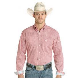 Panhandle Men's Rough Stock Button Down Shirt R0D4002