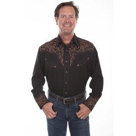 Scully Men's Scully Snap Front Shirt P-884