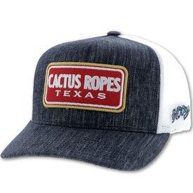 Hooey Men's Navy Cactus Ropes Cap