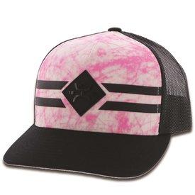Hooey Spitfire Pink Black Kids Cap