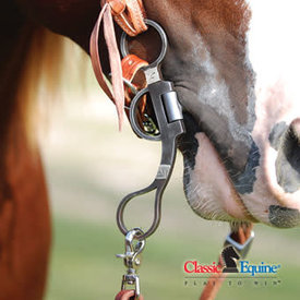 Classic Equine Cowboy Series Argentine Shank Dog Bone Snaffle