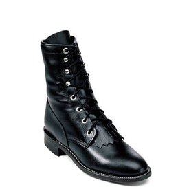 Justin Women's Lace Up Roper Boot C5 6.5 A