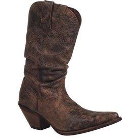 Durango Women's Distressed Crush Boot C5 8.5 M