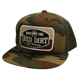 Red Dirt Hat Co Roam Free Camo Kids Cap