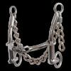 Goostree Barrel CG Chain Snaffle Gag Bit