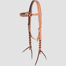 Martin Harness/Latigo Blood Knot Browband Headstall