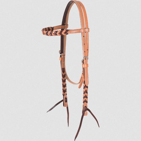 Martin Harness/Latigo Blood Knot Browband Headstall