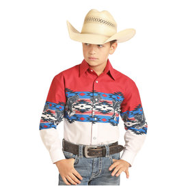 Panhandle Boy's Panhandle Snap Front Shirt C0S4850