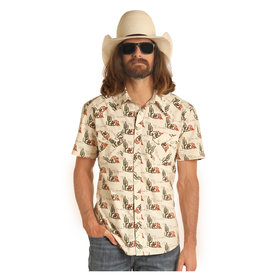 Rock & Roll Cowboy Men's Dale Brisby by Rock & Roll Cowboy Snap Front Shirt B1S4090