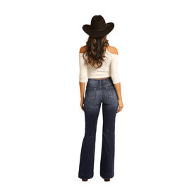 Rock and Roll Cowgirl Women's Rock & Roll Cowgirl Trouser W8H3444