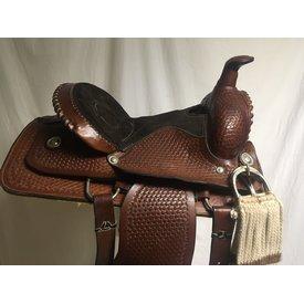 Used Basketweave Youth Saddle