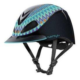 Troxel Fallon Taylor Turquoise Aztec Helmet Small