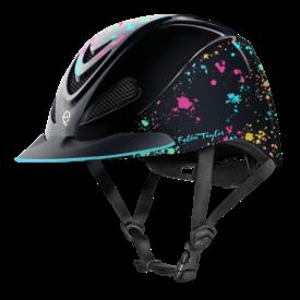 Troxel Fallon Taylor Rave Splatter Helmet Sz Small