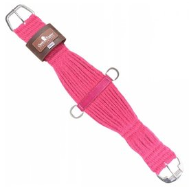 Classic Equine Colored 100% Mohair Cinch Pink