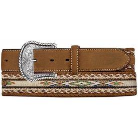 Tony Lama Men's Badlands Horse Hair Belt