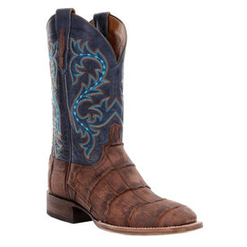 Lucchese Men's Brandy Giant Alligator Square Toe Boot