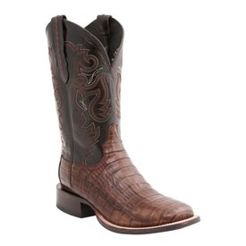 Lucchese Men's Cigar Caiaman Square Toe Boot