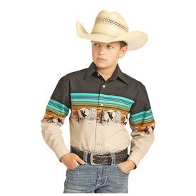 Panhandle Boy's Snap Front Shirt C0S4849