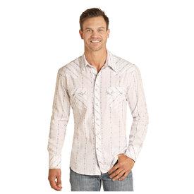 Rock & Roll Cowboy Men's Snap Front Shirt B2S4075