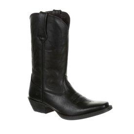 Durango Women's Black Wide Snip Toe Boot C4 Sz 9M