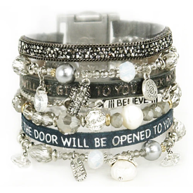 Goodworks Amica Come Together Scripture Bracelets