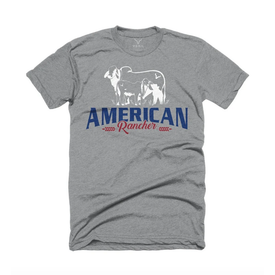 Vexil American Rancher Heather Gray Tee