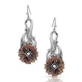 Montana Silversmiths Wildflower Kaleido Earrings