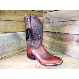 Black Jack Men's Tan Bison Western Boot