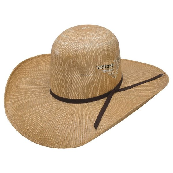 Resistol Whiskey Wild Man 7X Straw Hat C4 7 3/8