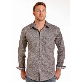 Panhandle Men's Rough Stock Snap Front Shirt C3 XL