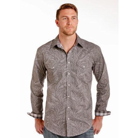 Men's Rough Stock Snap Front Shirt C3 XL