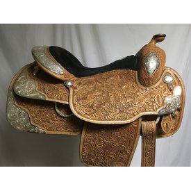 Tex Tan Fully Tooled Show Saddle