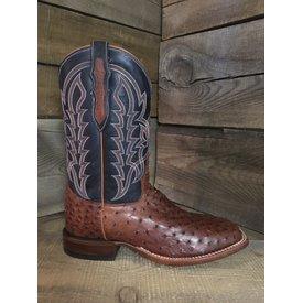 Tony Lama Men's Brandy Ostrich Royal Suleika Boot