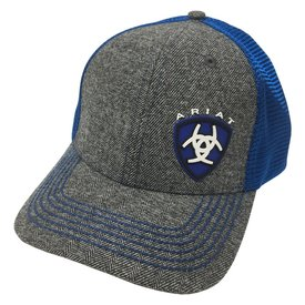 Ariat Men's Royal Blue Logo Cap