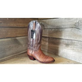 Black Jack Men's Cigar Smooth Ostrich Western Boot C3
