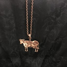 Wyo-Horse Bessie Copper Cow Jewelry Set