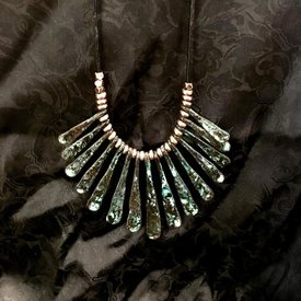 Wyo-Horse Zia Burst Patina Jewelry Set