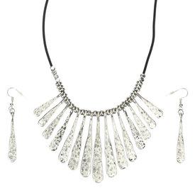 Wyo-Horse Zia Burst Silver Jewelry Set