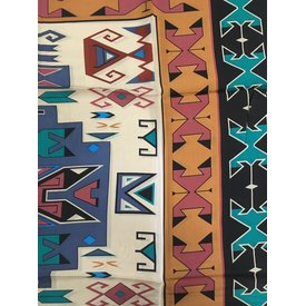Wyoming Traders Sandstone and Black Tribal Wild Rag