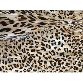 Wyoming Traders Large Leopard Print Wild Rag