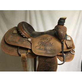 Circle Y Champion Saddle Bronc Trophy Saddle
