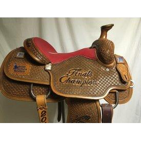 Circle Y Red Stingray Seat Trophy Saddle