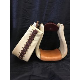 American Heritage Equine Over Shoe Stirrup Ralide Leather