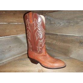 Hondo Men's Rust Bison Western Boot