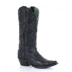 Corral Women's Black Inlay Western Boot