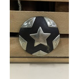 Large Star Explosion Screw Concho