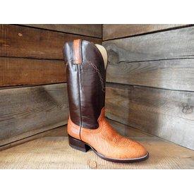 Hondo Men's Two Tone Walnut Western Boot