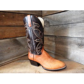 Hondo Men's Walnut Shoulder Two Tone Western Boot